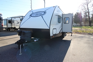 2017 FOREST RIVER VIBE 243BHS USED TRAVEL TRAILER